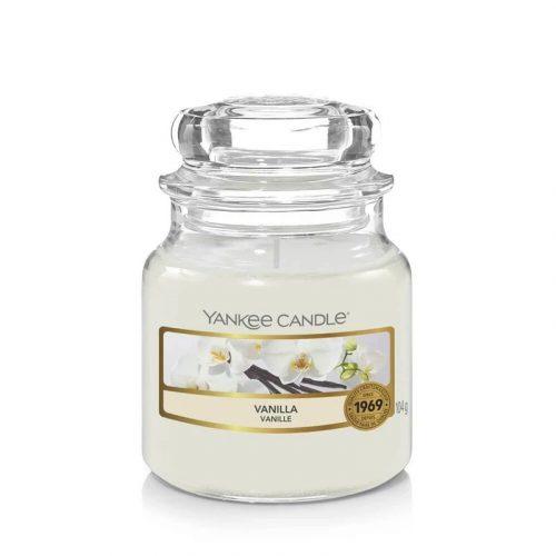 Yankee Candle Vanilla kis üveggyertya
