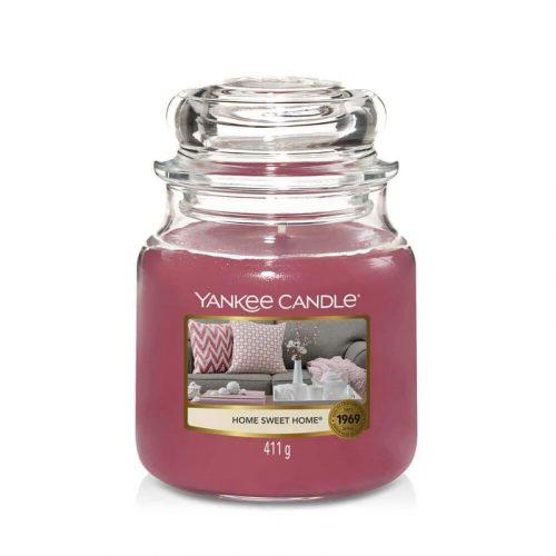 Yankee Candle Home Sweet Home közepes üveggyertya