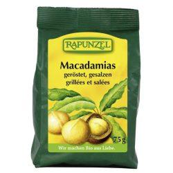 Rapunzel Macadamia dióbél, pörkölt