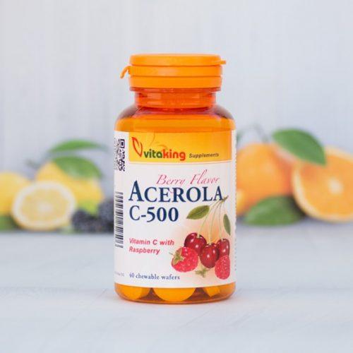 VitaKing Acerola C-vitamin komplex 500mg