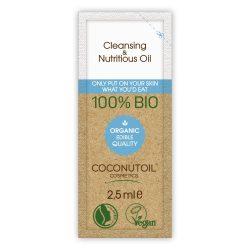 Coconutoil Cosmetics Arcregeneráló és Sminklemosó Olaj 2,5ml