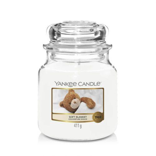 Yankee Candle Soft Blanket közepes üveggyertya