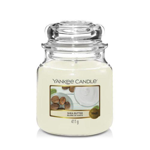 Yankee Candle Shea Butter közepes üveggyertya