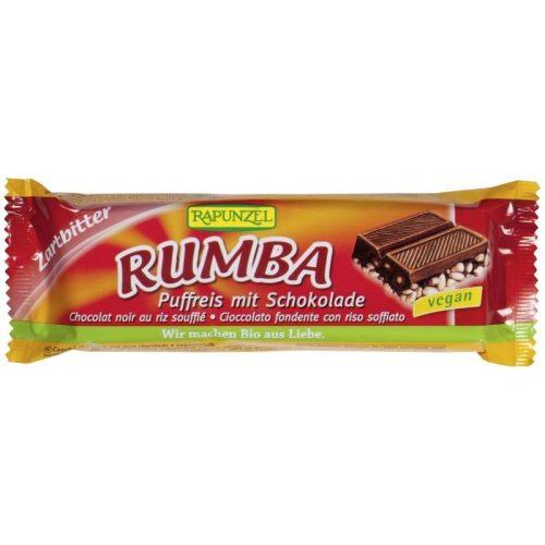 Rapunzel Rumba rizsszelet, étcsokoládés