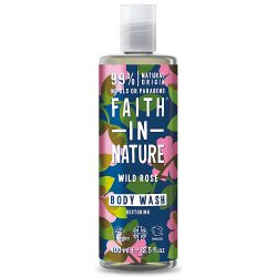 Faith in Nature Vadrózsa tusfürdő 400ml
