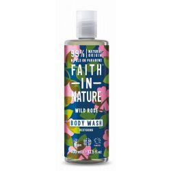 Faith in Nature Vadrózsa tusfürdő 400ml