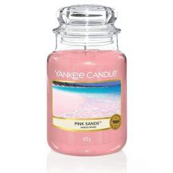 Yankee Candle Pink Sands nagy üveggyertya