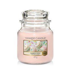 Yankee Candle Rainbow Cookie közepes üveggyertya