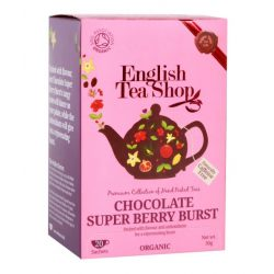 English Tea Shop Csokoládés bogyósgyümölcsös bio tea