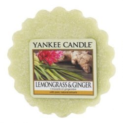 Yankee Candle Lemongrass & Ginger Tarts mini viasz