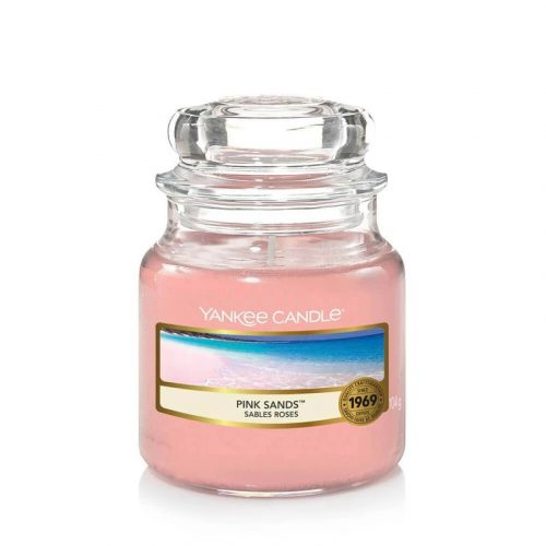 Yankee Candle Pink Sands kis üveggyertya