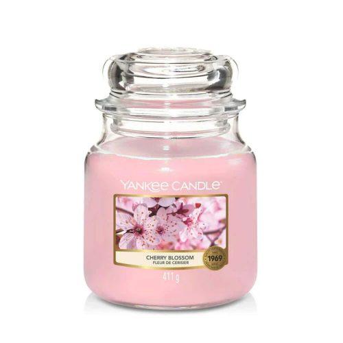 Yankee Candle Cherry Blossom közepes üveggyertya