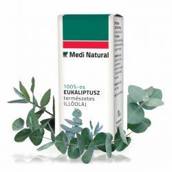 MediNatural Eukaliptusz illóolaj 100% 10ml