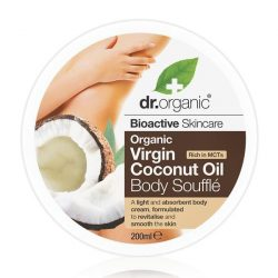 Dr. Organic Bio Kókuszolaj testápoló szuflé 200ml