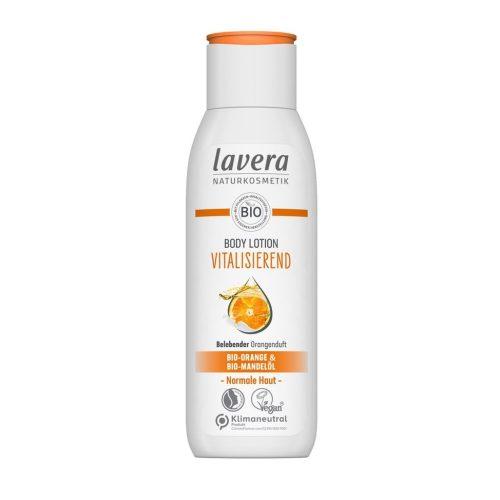 Lavera testápoló Revitalizáló narancs és homoktövis 200ml
