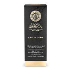 Natura Siberica Caviar Gold Éjszakai arckrém koncentrátum