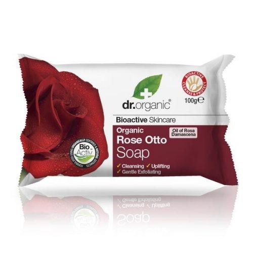 Dr. Organic Szappan bio damaszkuszi rózsaolajjal