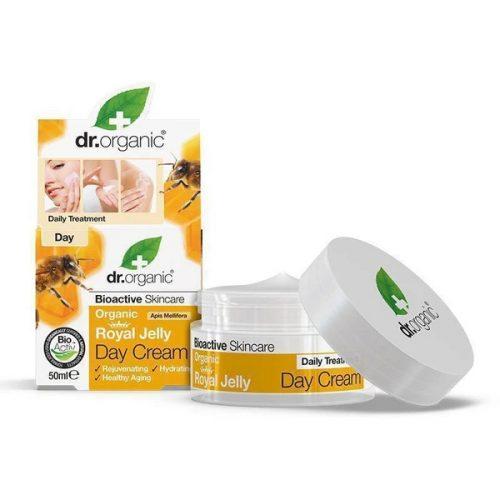 Dr. Organic Nappali krém bio méhpempővel