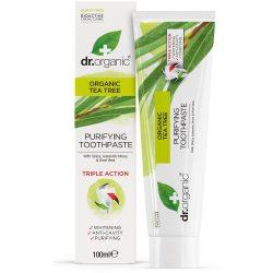 Dr. Organic Bio Teafa fogkrém 100ml