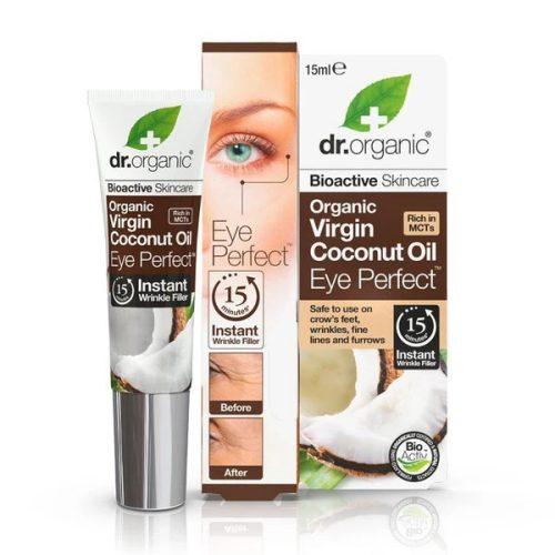 Dr. Organic Bio Kókuszolaj szemkörnyék feszesítő szérum 15ml