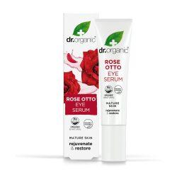 Dr. Organic Damaszkuszi rózsa szemkörnyék ápoló szérum