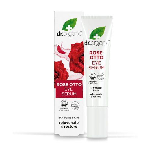 Dr. Organic Szemkörnyék ápoló szérum bio damaszkuszi rózsaolajjal