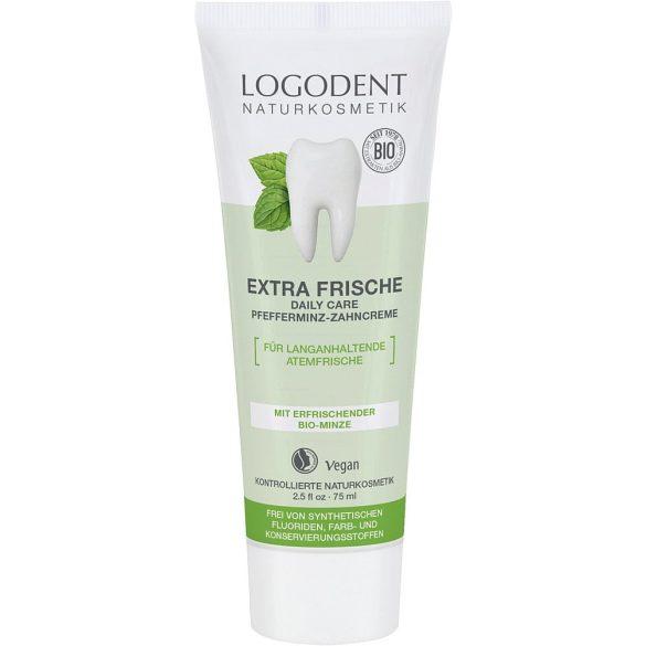 Logodent Extra friss daily care Bio-Borsmenta fogkrém