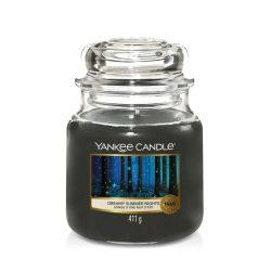 Yankee Candle Dreamy Summer Nights közepes üveggyertya