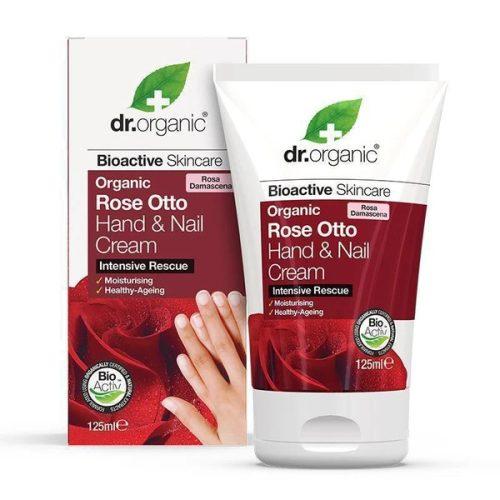 Dr. Organic Bio Damaszkuszi rózsa Kéz- és körömápoló krém 125ml