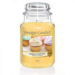 Yankee Candle Vanilla Cupcake nagy üveggyertya