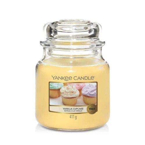 Yankee Candle Vanilla cupcake közepes üveggyertya