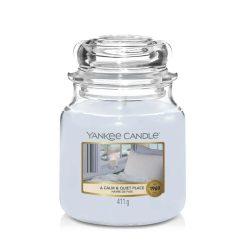 Yankee Candle A Calm & Quiet Place közepes üveggyertya