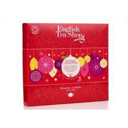 English Tea Shop Ünnepi teaválogatás piros