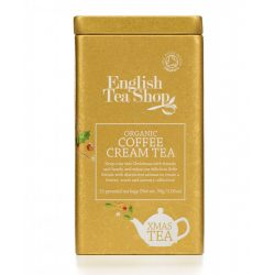 English Tea Shop X-mas Coffee Cream Bio Tea