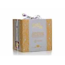 English Tea Shop bio karácsonyi teaválogatás arany