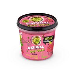 Planeta Organica Skin Super Good Természetes testradír licsivel és rágógumiillattal 360 ml