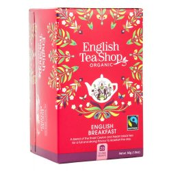 English Tea Shop Bio tea - English Breakfast 20 filter