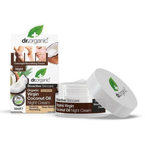 Dr. Organic Bio Kókuszolaj éjszakai krém 50ml