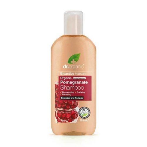 Dr. Organic Bio Gránátalma hajsampon 265ml