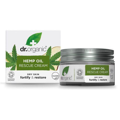 Dr. Organic Bioaktív Kendermagolaj 24 órás Elsősegély krém 50ml