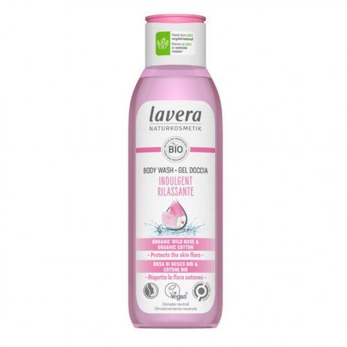 Lavera tusfürdő Wellness Feeling - vadrózsa - hibiszkusz 200ml