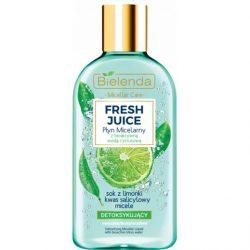 Bielenda Fresh Juice Detox micellás arctisztító - Lime