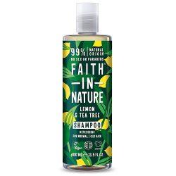 Faith in Nature Citromfű és Teafa sampon 400ml
