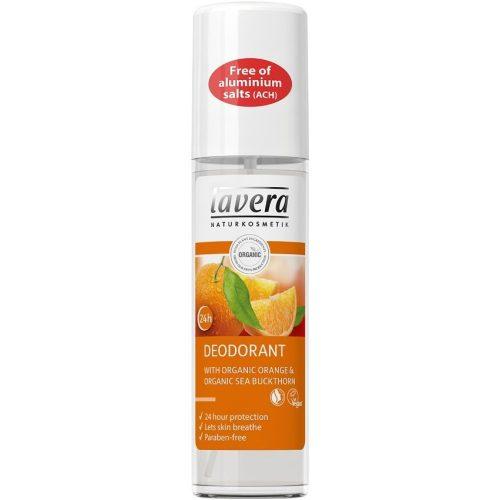 Lavera Revitalizáló narancs és homoktövis pumpás dezodor