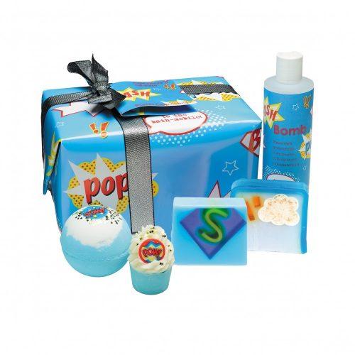 Bomb Cosmetics Szuperhős ajándékcsomag