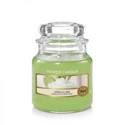 Yankee Candle Vanilla lime kis üveggyertya