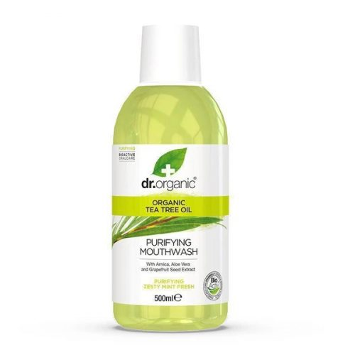 Dr. Organic Bio Teafaolaj szájvíz 500ml