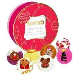 Bomb Cosmetics Boldog karácsonyt! fürdőkrém szett