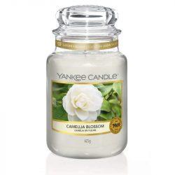 Yankee Candle Camellia Blossom nagy üveggyertya