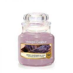 Yankee Candle Dried Lavender & Oak kis üveggyertya